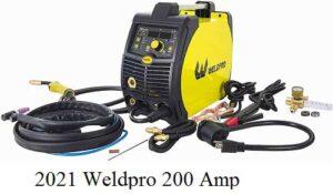 2021 Weldpro 200 Amp Inverter