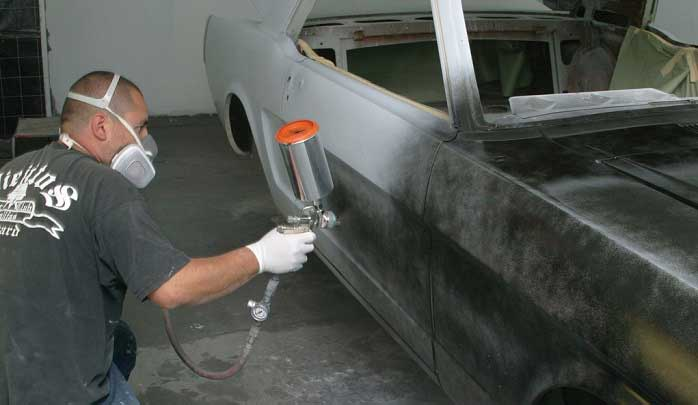 Welding and Painting for Bodywork